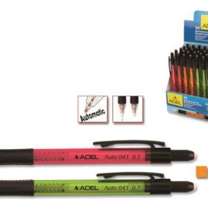 ADEL-OFİS MALZEMELERİ-Yazı Gereçleri-Versatil Uçlu Kalemler-Adel Auto 43 Versatil 0.7Mm Stand