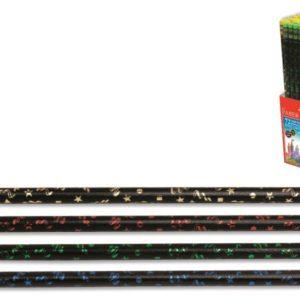 Faber-Castell-OFİS MALZEMELERİ-Yazı Gereçleri-Kurşun Kalemler-Faber-Castell Party Kurşunkalem Siyah Lata