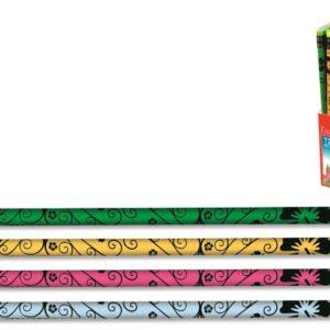 Faber-Castell-OFİS MALZEMELERİ-Yazı Gereçleri-Kurşun Kalemler-Faber-Castell Flowers Silgili Kurşunkalem (Stoklarla Sınırlıdır)
