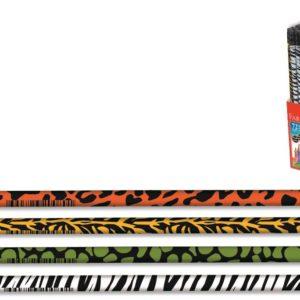 Faber-Castell-OFİS MALZEMELERİ-Yazı Gereçleri-Kurşun Kalemler-Faber-Castell Safari Kurşunkalem Siyah Lata (Stoklarla Sınırlıdır)