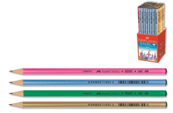 Faber-Castell-OFİS MALZEMELERİ-Yazı Gereçleri-Kurşun Kalemler-Faber-Castell Sedef Dipli Kurşunkalem