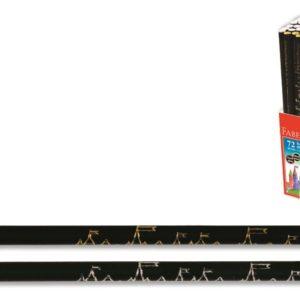 Faber-Castell-OFİS MALZEMELERİ-Yazı Gereçleri-Kurşun Kalemler-Faber-Castell Şato Kurşunkalem Siyah Lata (Stoklarla Sınırlıdır)