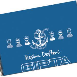 GIPTA-KAĞIT ÜRÜNLERİ-Defterler-Resim Defterleri-GIPTA PP KPK SP.RESİM DEF.25*35-40 YP.