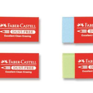 Faber-Castell-OKUL GEREÇLERİ-Silgiler--Faber-Castell Dust-Free Renkli Silgi