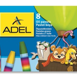 ADEL-OKUL GEREÇLERİ-Resim Gereçleri-Pastel Boyalar-Adel Karton Kutu Pastel Boya