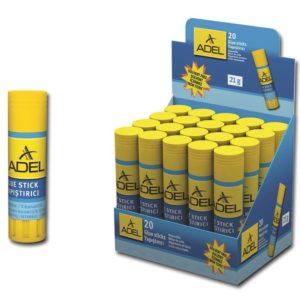 ADEL-OFİS MALZEMELERİ-Yapıştırıcılar-Stick Yapıştırıcılar-Adel Stick Yapıştırıcı 21Gr