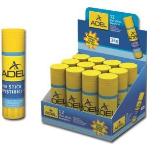 ADEL-OFİS MALZEMELERİ-Yapıştırıcılar-Stick Yapıştırıcılar-Adel Stick Yapıştırıcı 36Gr