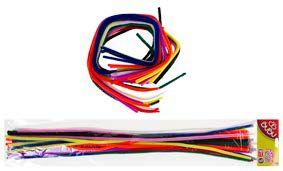 BU-BU-OKUL GEREÇLERİ-Okul Öncesi Ürünler-Şönil / Tüylü Teller-Bu-Bu Şönil 30cm 9 Renk 25'li
