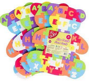 BU-BU-OYUNCAKLAR-Puzzle Çeşitleri--Bu-Bu Eva Puzzle Ayı Harfler