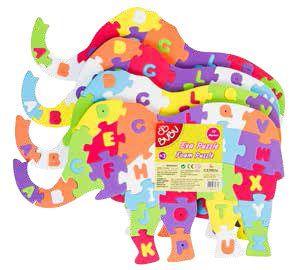 BU-BU-OYUNCAKLAR-Puzzle Çeşitleri--Bu-Bu Eva Puzzle Fil Harfler