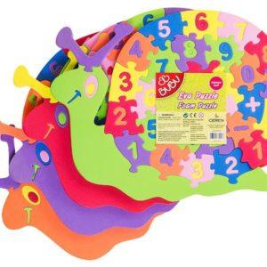 BU-BU-OYUNCAKLAR-Puzzle Çeşitleri--Bu-Bu Eva Puzzle Salyangoz Rakamlar