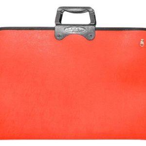 CEO-OKUL GEREÇLERİ-Resim Gereçleri-Proje Çantaları-Ceo Art Proje Çantası 38x55 Kırmızı (NET)