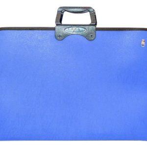 CEO-OKUL GEREÇLERİ-Resim Gereçleri-Proje Çantaları-Ceo Art Proje Çantası 38x55 Mavi (NET)