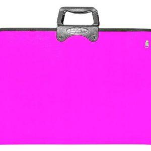 CEO-OKUL GEREÇLERİ-Resim Gereçleri-Proje Çantaları-Ceo Art Proje Çantası 38x55 Pembe (NET)