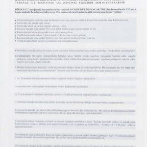 DİLMAN-KAĞIT ÜRÜNLERİ-Resmi / Ticari Evraklar-Ticari Defterler-Dilman Kaza Tespit Formu Otokopili
