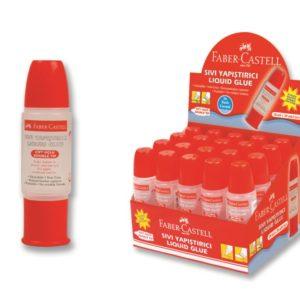 Faber-Castell-OFİS MALZEMELERİ-Yapıştırıcılar-Sıvı Yapıştırıcılar-Faber-Castell Çift Taraflı Sıvı Yapıştırıcı