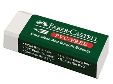 Faber-Castell-OKUL GEREÇLERİ-Silgiler--Faber-Castell 7085/20 Beyaz Silgi