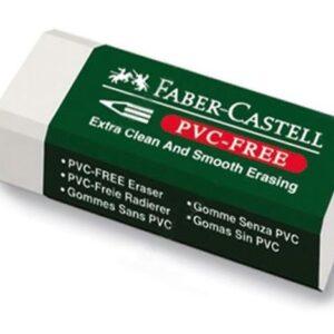 Faber-Castell-OKUL GEREÇLERİ-Silgiler--Faber-Castell 7085/30 Beyaz Silgi
