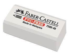 Faber-Castell-OKUL GEREÇLERİ-Silgiler--Faber-Castell 7086/48 Beyaz Silgi