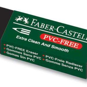 Faber-Castell-OKUL GEREÇLERİ-Silgiler--Faber-Castell 7089/20 Siyah Silgi
