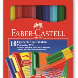 Faber-Castell-OKUL GEREÇLERİ-Resim Gereçleri-Kalem Boyalar-Faber-Castell Eğlenceli Keçeli Kalem