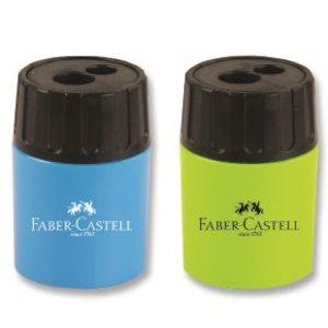 Faber-Castell-OFİS MALZEMELERİ-Yazı Gereçleri-Kalemtraşlar-Faber-Castell Geniş Hazneli Çiftli Kalemtraş