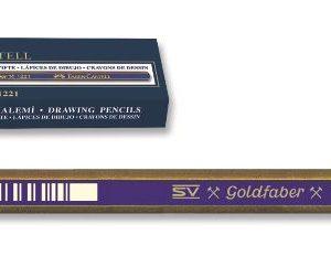 Faber-Castell-OKUL GEREÇLERİ-Resim Gereçleri-Dereceli Kalemler-Goldfaber 1221 Dereceli Kurşunkalem 5B