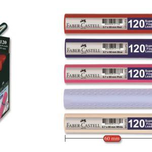 Faber-Castell-OFİS MALZEMELERİ-Yazı Gereçleri-Versatil Kalem Uçları (Minler)-Faber-Castell Grip Min 0.7 2B 60mm