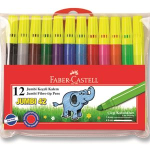 Faber-Castell-OKUL GEREÇLERİ-Resim Gereçleri-Kalem Boyalar-Faber-Castell Jumbi-Neon Floresan Markör