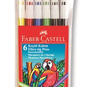 Faber-Castell-OKUL GEREÇLERİ-Resim Gereçleri-Kalem Boyalar-Faber-Castell Keçeli Kalem