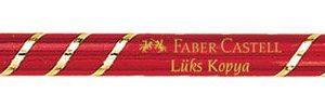 Faber-Castell-OFİS MALZEMELERİ-Yazı Gereçleri-Kurşun Kalemler-Faber-Castell Lüks Kırmızı Kopya Boya Kalemi