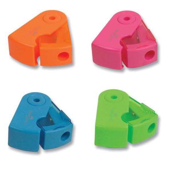 Faber-Castell-OFİS MALZEMELERİ-Yazı Gereçleri-Kalemtraşlar-Faber-Castell Mini Sleeve Neon Kalemtraş