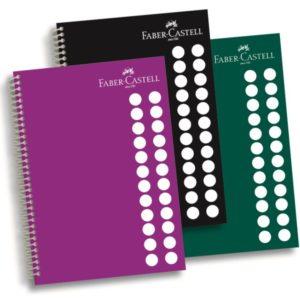 Faber-Castell-KAĞIT ÜRÜNLERİ-Defterler-Plastik Kapak Defterler-Faber-Castell Pp Kapak Koyu Renkler