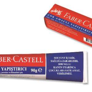 Faber-Castell-OFİS MALZEMELERİ-Yapıştırıcılar-Sıvı Yapıştırıcılar-Faber-Castell Sıvı Yapıştırıcı 90Gr