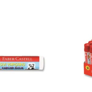 Faber-Castell-OFİS MALZEMELERİ-Yapıştırıcılar-Sıvı Yapıştırıcılar-Faber-Castell Su Bazlı Sıvı Yapıştırıcı 50 Ml