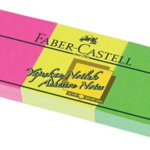 Faber-Castell-KAĞIT ÜRÜNLERİ-Yapışkanlı Not Kağıtları Ve Pano-Yapışkanlı Not Kağıtları-Faber-Castell Yapışkan Notluk 50X40Mm