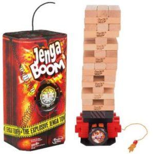 HASBRO-OYUNCAKLAR-Oyunlar--Hasbro Jenga Boom A2028