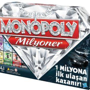 HASBRO-OYUNCAKLAR-Oyunlar--Hasbro Monopoly Milyoner 98838