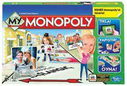 HASBRO-OYUNCAKLAR-Oyunlar--Hasbro My Monopoly A8595