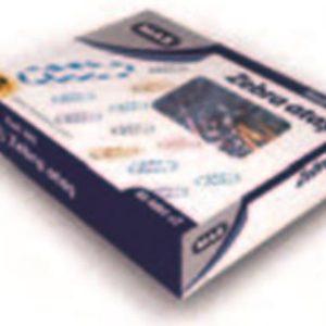 MAS-OFİS MALZEMELERİ-Masa Üstü Gereçleri-Masa Setleri & Kalemlik & Notluklar-MAS 285 Zebra Atas (Pvc Kaplı) 28 Mm.