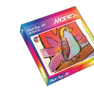 MARİE'S-OKUL GEREÇLERİ-Resim Gereçleri-Pastel Boyalar-Maries Pastel Boya 24Lü Karton  Kutu