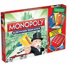 HASBRO-OYUNCAKLAR-Oyunlar--Monopoly Elektronik Bankacılık A7444