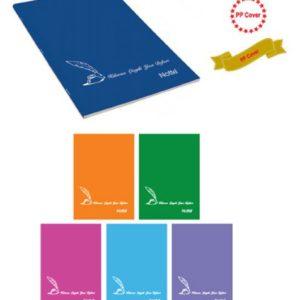 NOTTE-KAĞIT ÜRÜNLERİ-Defterler-Güzel Yazı Defterleri-Notte 32 Yaprak Plastik Kapak Kılavuz Çizgili  Güzel Yazı Defteri A5