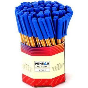 PENSAN-OFİS MALZEMELERİ-Yazı Gereçleri-Tükenmez Kalemler-Pensan Ofispen Tükenmez Kalem 1 Mm Mavi