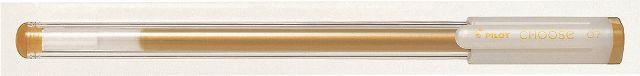 PİLOT-OFİS MALZEMELERİ-Yazı Gereçleri-İğne Uçlu Kalemler-Pilot Choose Kalem 0.7 Altın