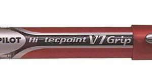 PİLOT-OFİS MALZEMELERİ-Yazı Gereçleri-İğne Uçlu Kalemler-Pilot V7 Grip Hi-Tecpoınt Kırmızı