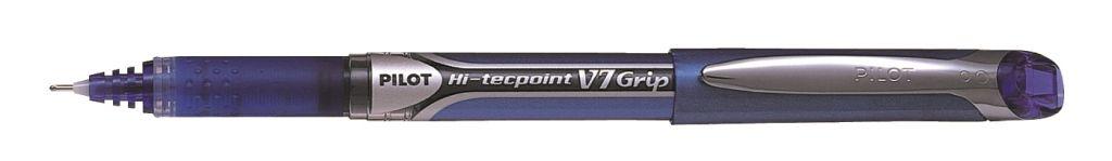 PİLOT-OFİS MALZEMELERİ-Yazı Gereçleri-İğne Uçlu Kalemler-Pilot V7 Grip Hi-Tecpoınt Mavi