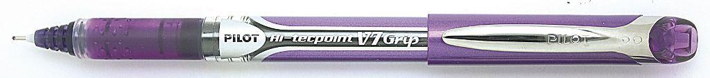 PİLOT-OFİS MALZEMELERİ-Yazı Gereçleri-İğne Uçlu Kalemler-Pilot V7 Grip Hi-Tecpoınt Mor