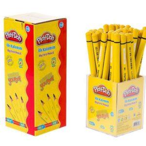 PLAY-DOH-OFİS MALZEMELERİ-Yazı Gereçleri-Kurşun Kalemler-Play-Doh İlk Kalemim 40'lı Stand