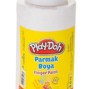 PLAY-DOH-OKUL GEREÇLERİ-Resim Gereçleri-Parmak Boyalar-Play-Doh 500 ML Parmak Boyası(Tüp)Beyaz
